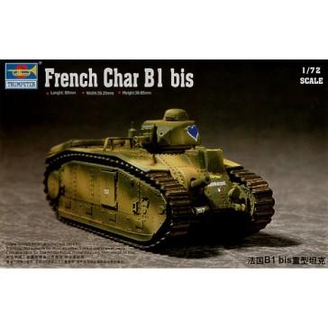 French Char B1 1/72