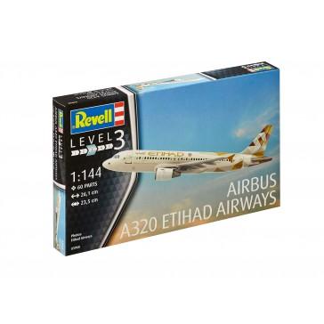 Airbus A320 ETIHAD AIRWAYS 1:144