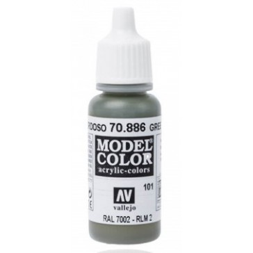 Peinture Acrylique Model Color (17ml) - Matt Green Grey