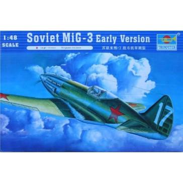 Soviet Mig3 Early 1/48