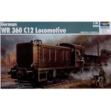 German WR 360C12 Loc.1/35