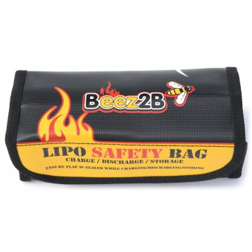 Lipo safety bag for charge, discharge & storage (185x75x60mm)