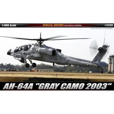 (12239) AH-64A Gray Camo 2003 1/48