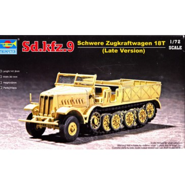 German SD.KFZ.9/18T 1/72