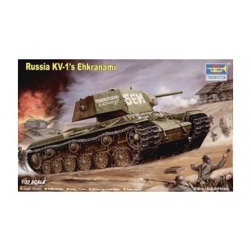 Rus. KV-1 Ehkranami 1/35