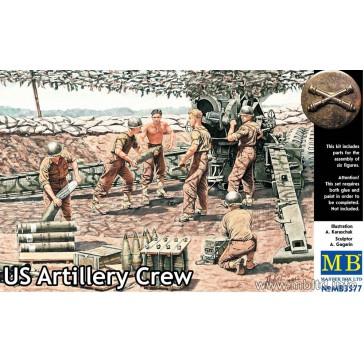US Artillery Crew WWII 1/35