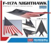 """(12219) F-117A """"LAST FLIGHT"""" 1/48"""