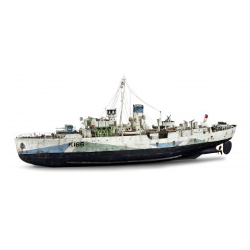 DISC.. Flower Class Corvette - Technik 1:72
