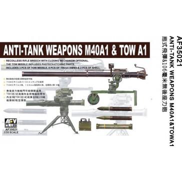 106 mm TOW / ANTITANK 1/35
