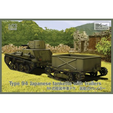 Type94 Jap.Tankette with trail.1/72