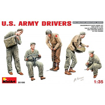 US Army Drivers 1/35