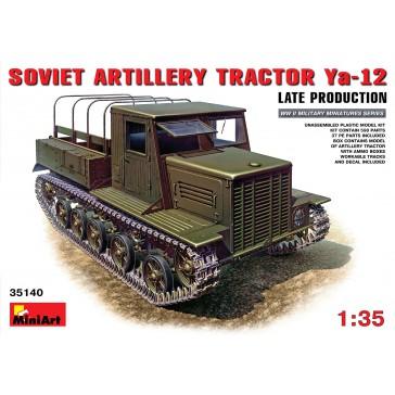 Soviet Artillery Tract. YA12 1/35