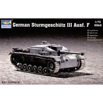 Sturmgeschütz III/F 1/72