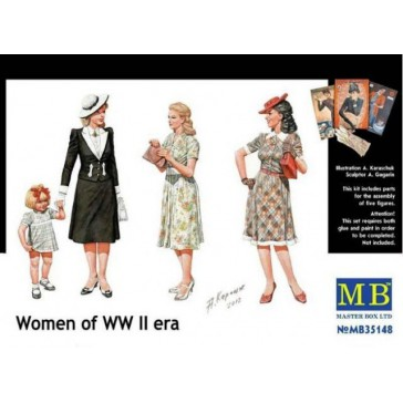 Women of WW II 1/35