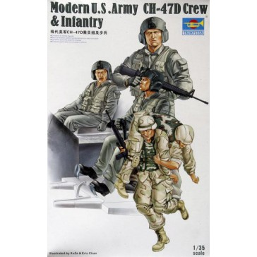US CH-47D Crew & Inf.1/35