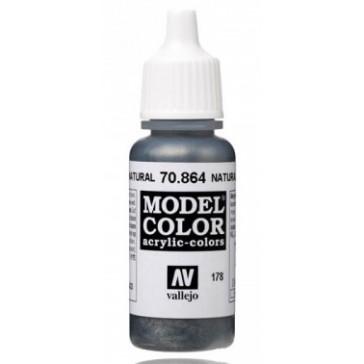Acrylic paint Model Color (17ml) - Metallic Natural Steel