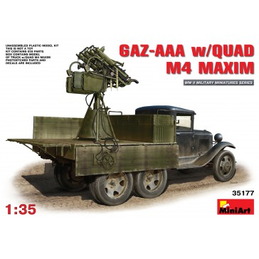 GAZ-AAA w/Quad M4 Maxim 1/35