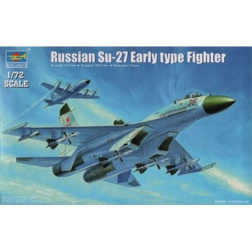 Russian SU27 Early Type Fighter1/72