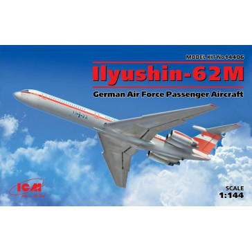Ilyushin-62M Germ.Pass.Aircr. 1/144
