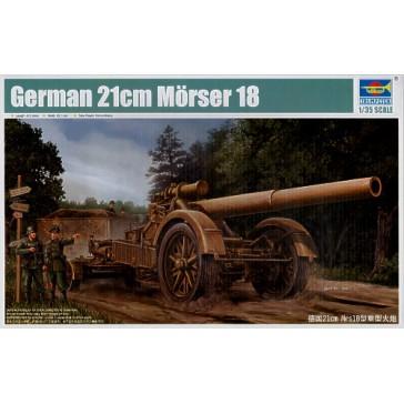 German 21cm Morser18 1/35