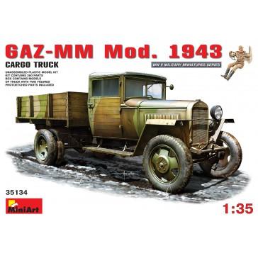 GAZ MM Mod 1943 Cargo Truck 1/35