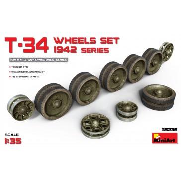 T-34 Wheels Set 1942 Series 1/35