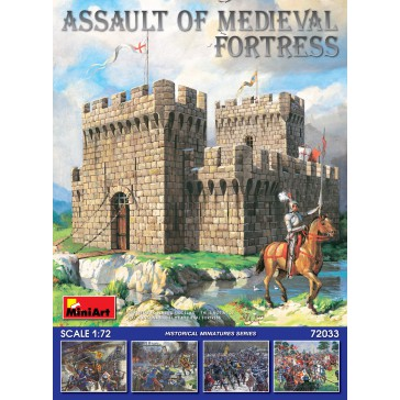 Assault of Medieval Fortress 1/72