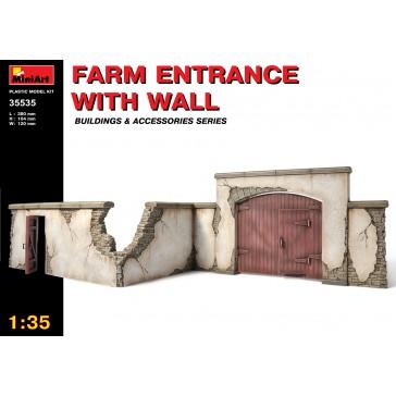 Farm Entrance w/ Wall 1/35