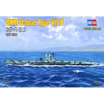 DKM U-boat Type VII B 1/700