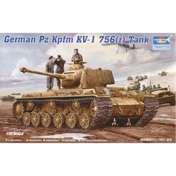 German Pz 756(r) 1/35