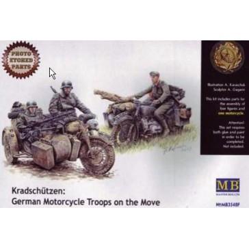 Kradschützen Motorcycle Ger.1/35