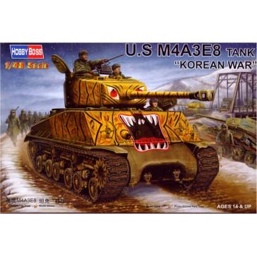 U.S M4A3E8 Tank 1/48