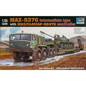 Sov.Tank MAZ 537 1/35