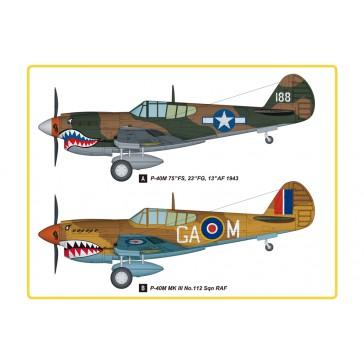 P-40E Kitty Hawk Fighter 1/48