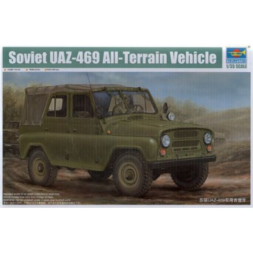 Sov.UAZ 469 All-Terrain Veh. 1/35