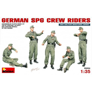 German SPG Crew Riders 1/35
