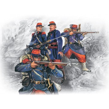 ICM French Line Infantry 1870 1/35