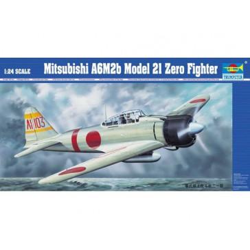 A6M2b 21 Zero fight. 1/24