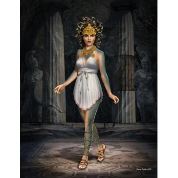 """Ancient Greek Myths """"Medusa"""" 1/24"""