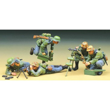 (1379) GER.MACHINE GUN TEAM 1/35