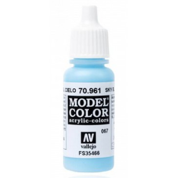 Peinture Acrylique Model Color (17ml) - Matt Sky Blue