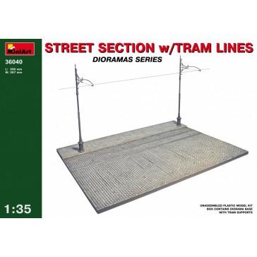 Street Secti+Tram Line 1/35