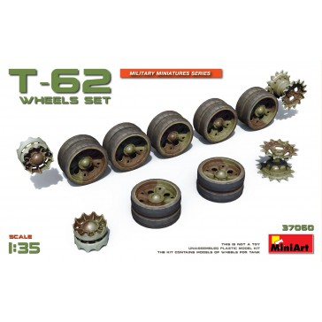 T-62 Wheels Set 1/35
