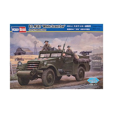 M3A1 Scout Car White Early Ver 1/35
