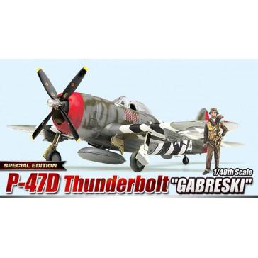 """(12222) P-47D """"GABRESKI"""" 1/48"""