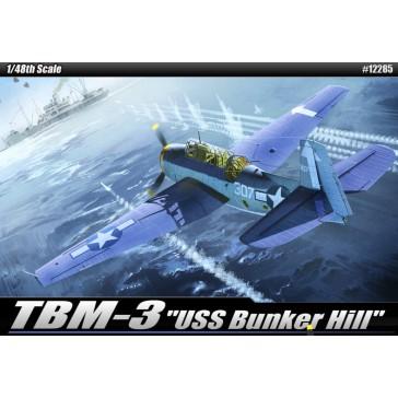 (12285) TBM-3 USS BUNK.HILL 1/48