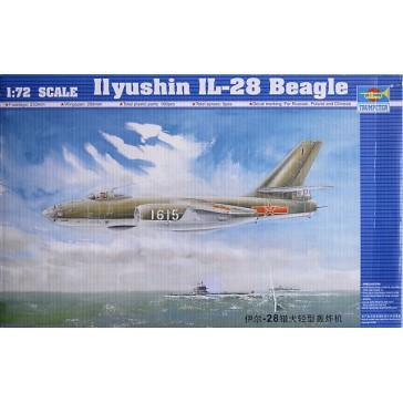 Ilyush.IL-28 Beagle 1/72