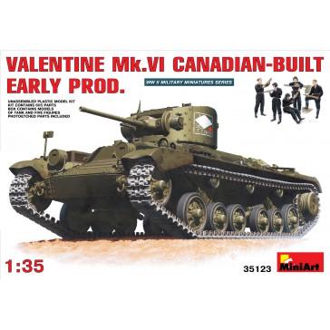 Valentine Mk6 Canadian 1/35