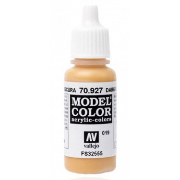 Peinture Acrylique Model Color (17ml) - Matt Dark Flesh