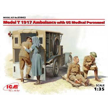Model T 1917 Ambulance with US 1/35